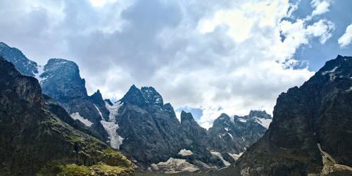 Black glacier Alps by Recreate4Life