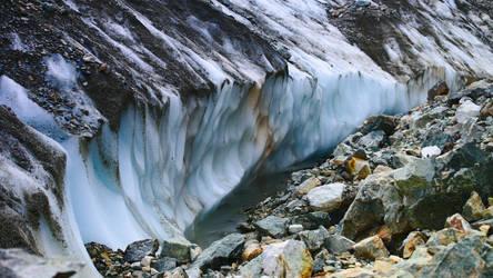 Black glacier Alps_2 by Recreate4Life