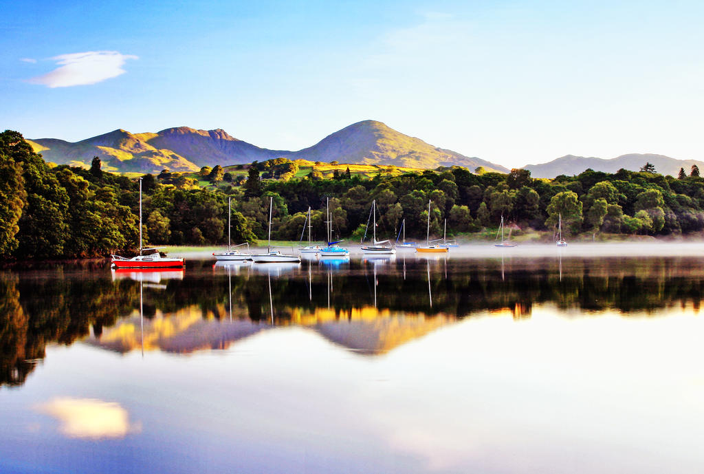 Coniston Tranquility by Capturing-the-Light