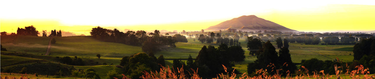 Waikato Panorama by Capturing-the-Light