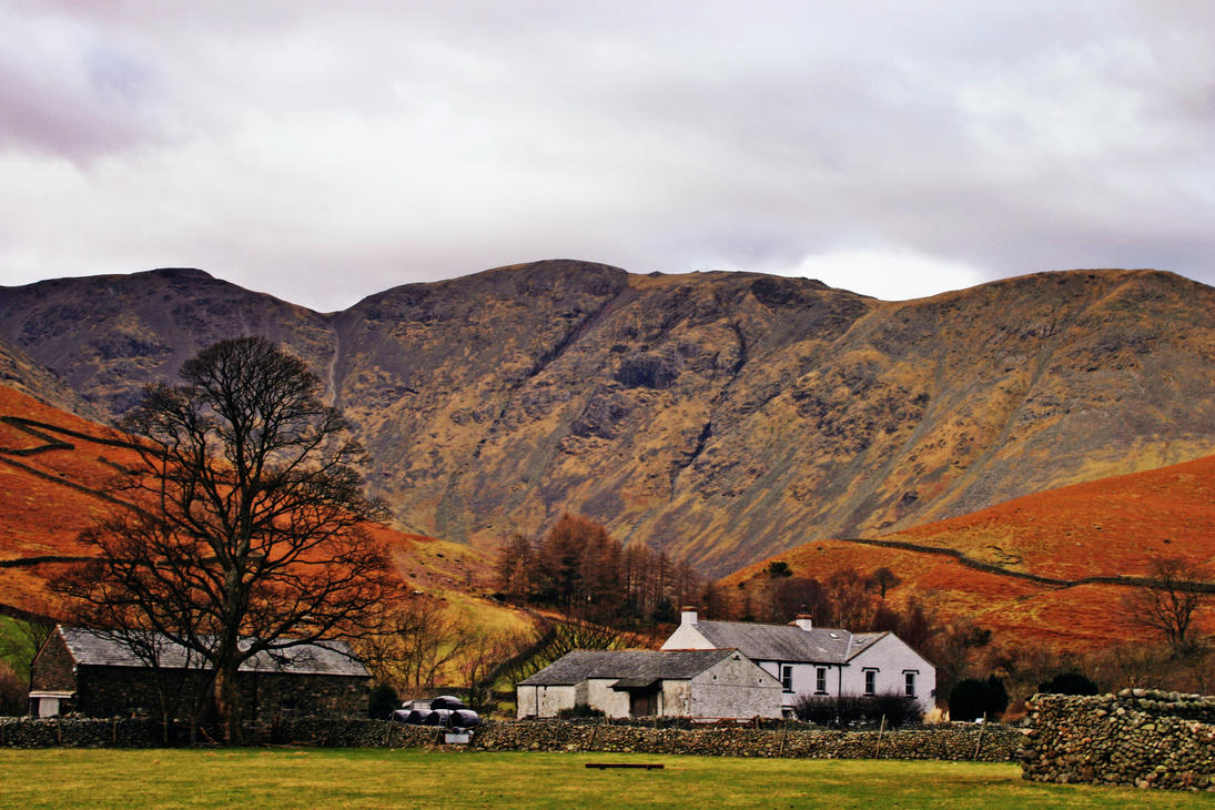Wasdale Head Farmstead by Capturing-the-Light