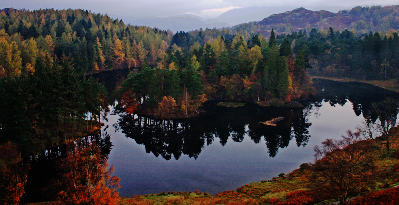 Tarn Hows by Capturing-the-Light
