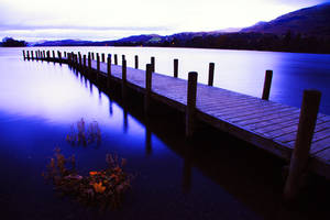 Pre Dawn Light coniston by Capturing-the-Light