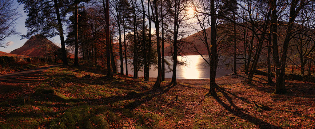 Moonlight By The Lake by Capturing-the-Light