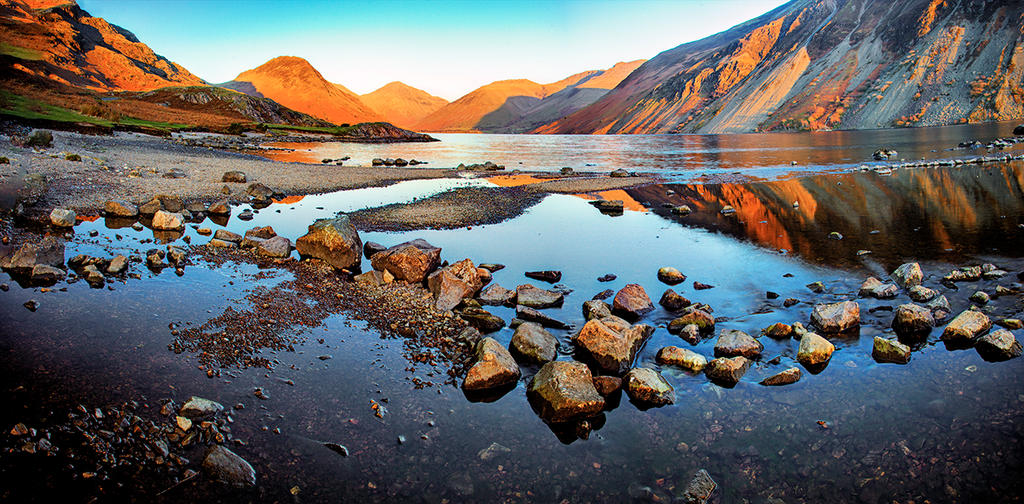 Wasdale Sunset by Capturing-the-Light