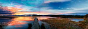 Lake Mahinapua by Capturing-the-Light