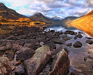 Wastwater Evening Light by Capturing-the-Light