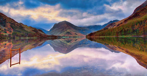 Buttermere  Morning Blue Hour by Capturing-the-Light