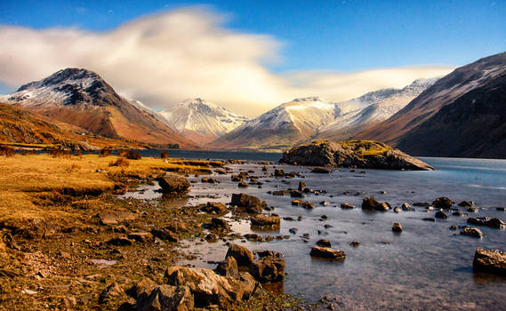 Wasdale by Moonlight