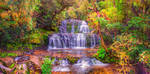 Purakaunui Falls by Capturing-the-Light