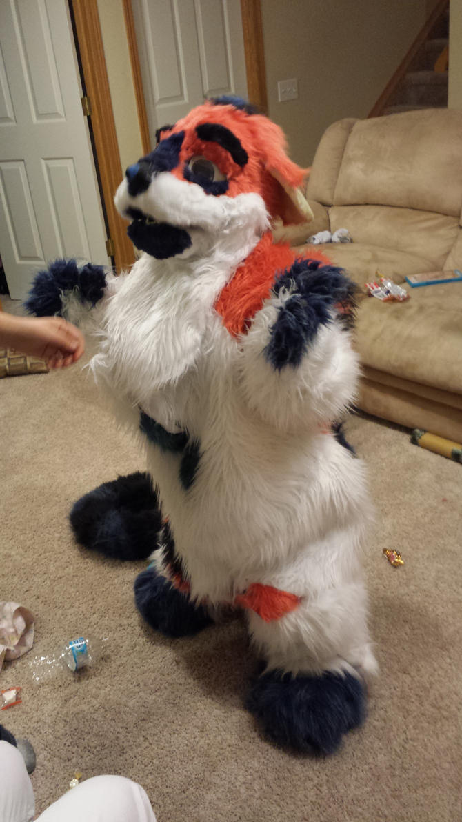 best friends little sister in my fursuit by invadercas