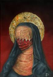 Nun by DeliroArt