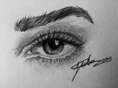Eye Sketch by ArtistJulez