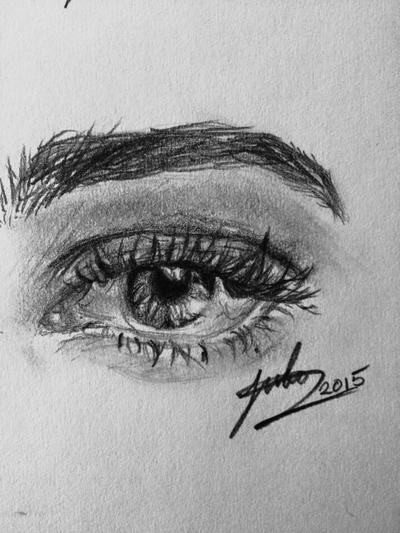 Eye Practice by ArtistJulez