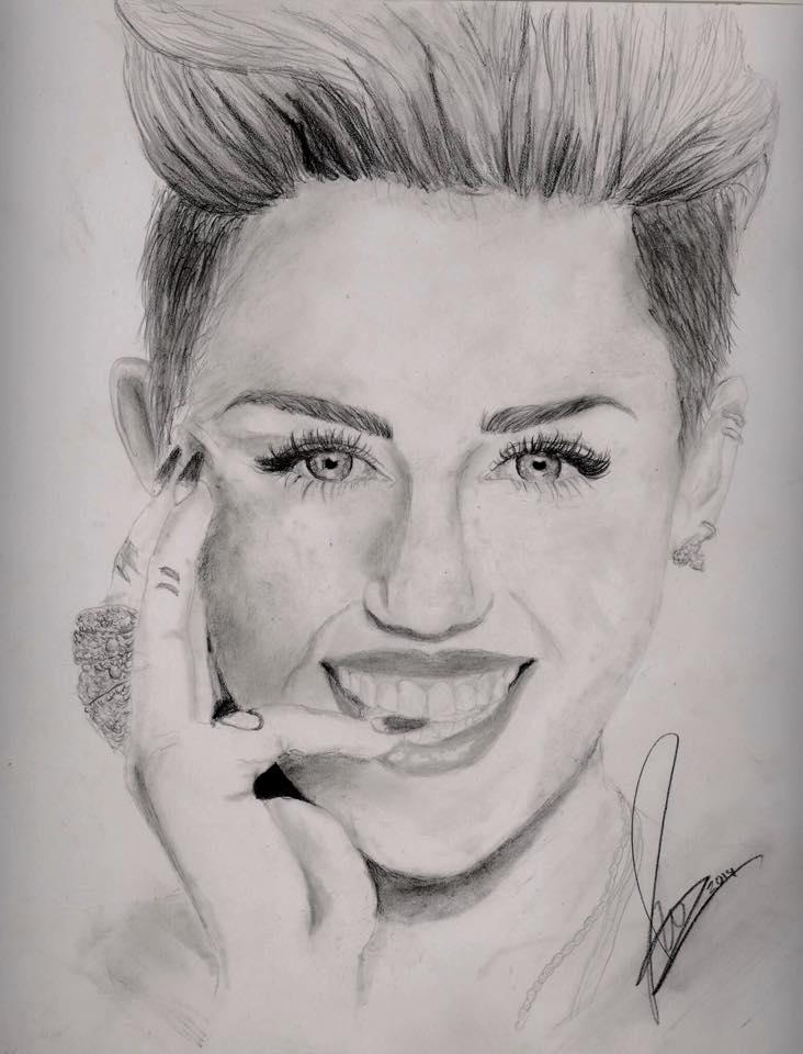 Miley Cyrus by ArtistJulez