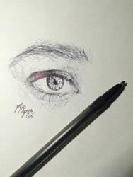 Pen Eye Sketch