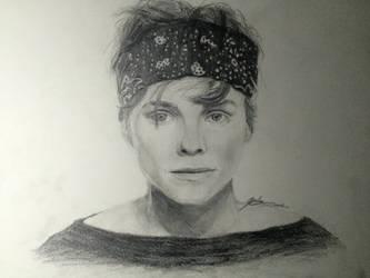 Ashton Irwin Realism Drawing