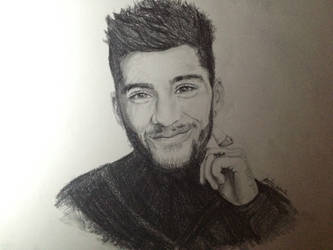 Zayn Malik Realism Drawing