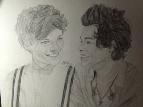 Larry Stylinson Realism Drawing