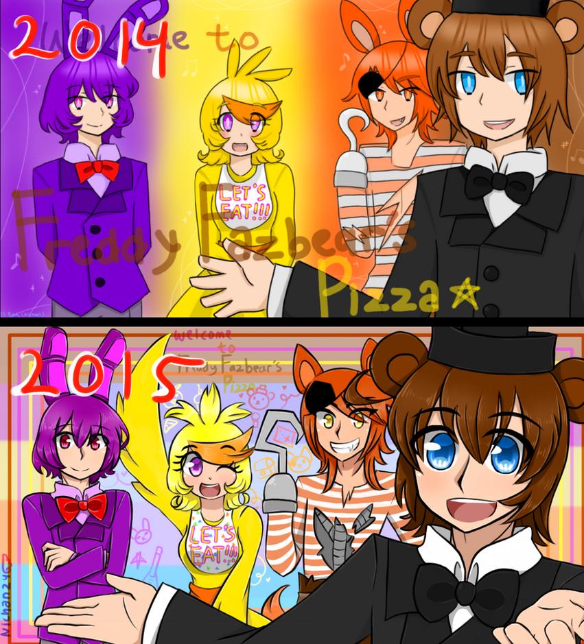 Welcome (comparison) by nichandesu