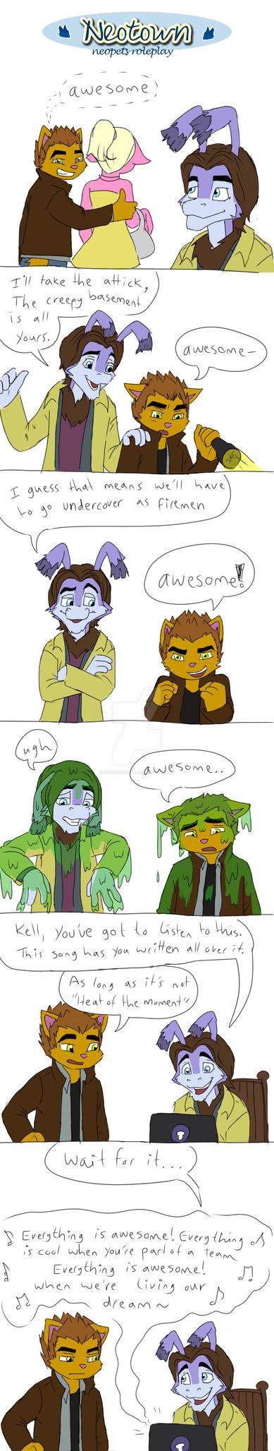 Corbin and Kell: Awesome by fanofnaruto