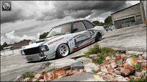 Opel Ascona Drift-version