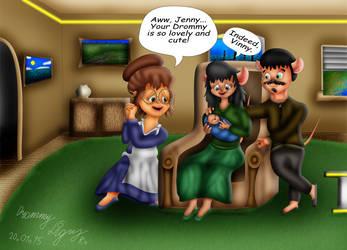 In the Lightyear's home by RomanDrommyLightyear