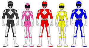 Eltarian Power Rangers