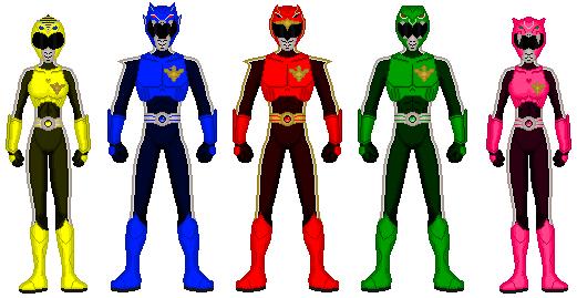 Akuma Sentai Shockranger by exguardian