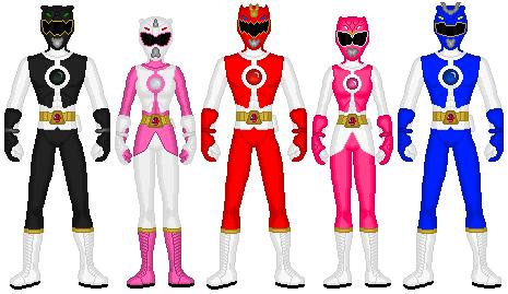 Power Rangers Genesis by exguardian