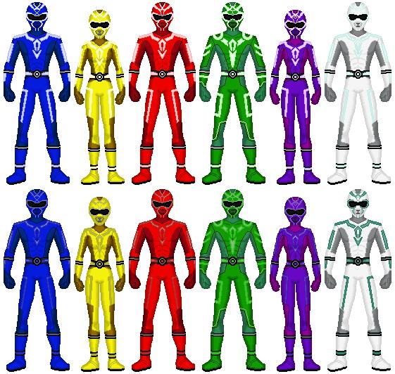 Virtual Sentai Arcadenger by exguardian