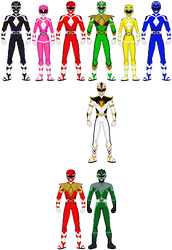Mighty Morphin Power Rangers - Next Generation