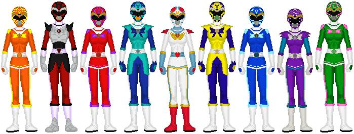 Celestial Sentai Lunaranger by exguardian