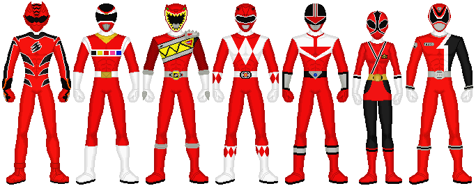 Power Rangers - Scorching Red by exguardian