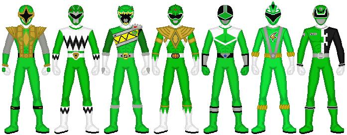 Power Rangers - Powerful Green by exguardian
