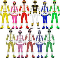 Power Rangers N-Verse: Mythic Thunder by exguardian