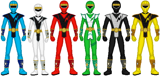 Power Rangers N-Verse: Alien Rangers by exguardian