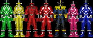 Power Rangers N-Verse: Time Force