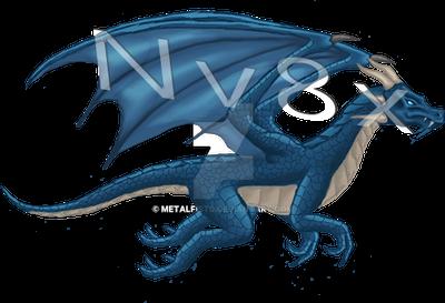Flying Blue Dragon by Metalfist0 on DeviantArt