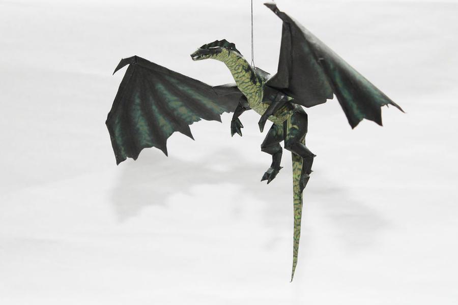 Drakan - Green Dragon by Metalfist0