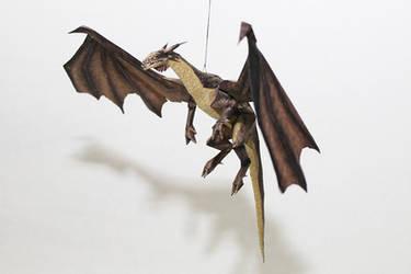 Drakan - Gold Dragon Papercraft