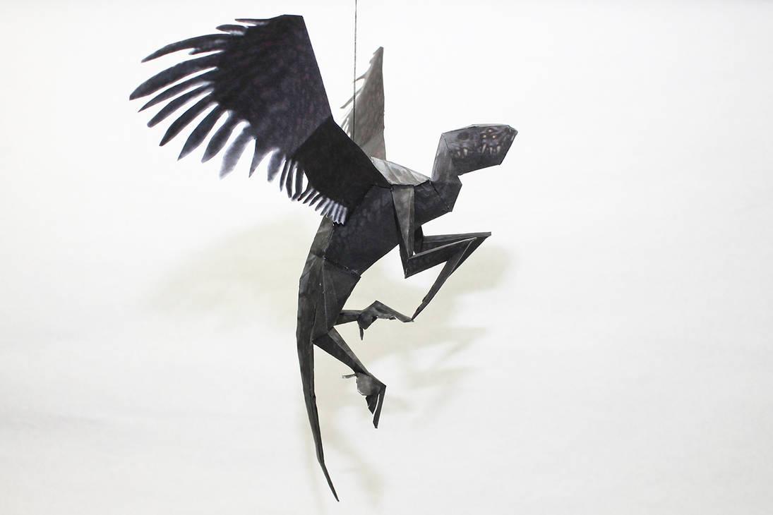 Drakan - BlackWing Papercraft by Metalfist0