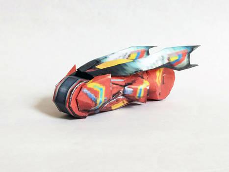 Extreme-G2 GSpark Bike Papercraft