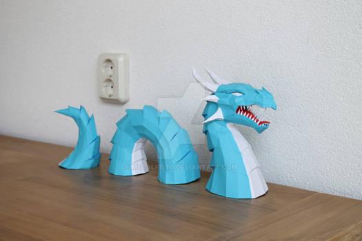 Water Dragon Papercraft
