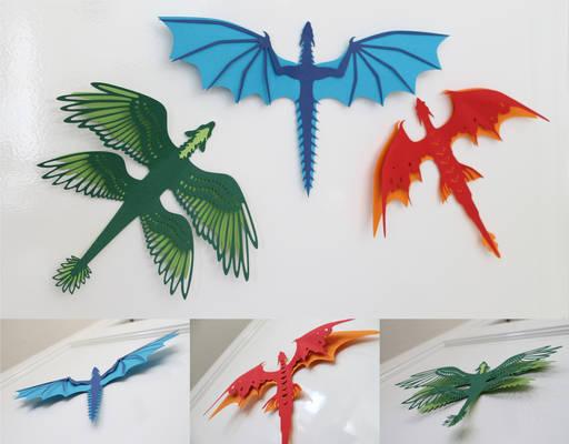 Wall Dragons DIY