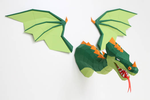 Efteling Dragon Papercraft