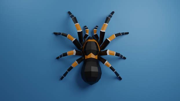 Tarantula Spider Papercraft DIY patterns