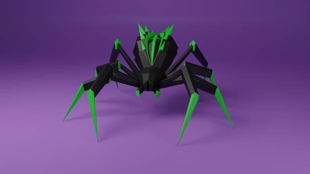 Poison Spider Papercraft DIY patterns