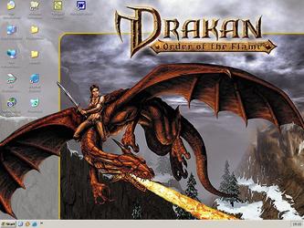 Desktop screenshot Drakan by Metalfist0