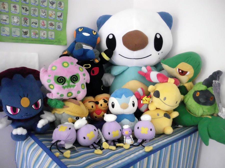 Pokemon plushies by mrscribble7